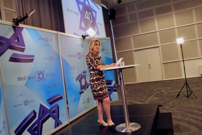 Yesh Atid-politikeren Aliza Lavie har invitert norske politikere til Israel for å knytte tettere bånd. (Foto: Bjarte Bjellås)