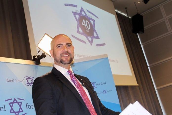 Amir Ohana fortalte om hva som skjedde etter at Oslo-avtalen ble inngått. Det førte til en blodbad. (Foto: Bjarte Bjellås)