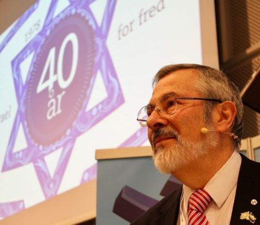 MIFFs første styreleder Jan Benjamin Rødner. (Foto: Bjarte Bjellås)