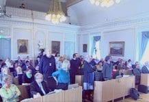 Representantene som gikk inn for boikott av israelske bosetninger stod alene mot et stort flertall i Bergen bystyre. (Skjermdump bergen.kommune.no)
