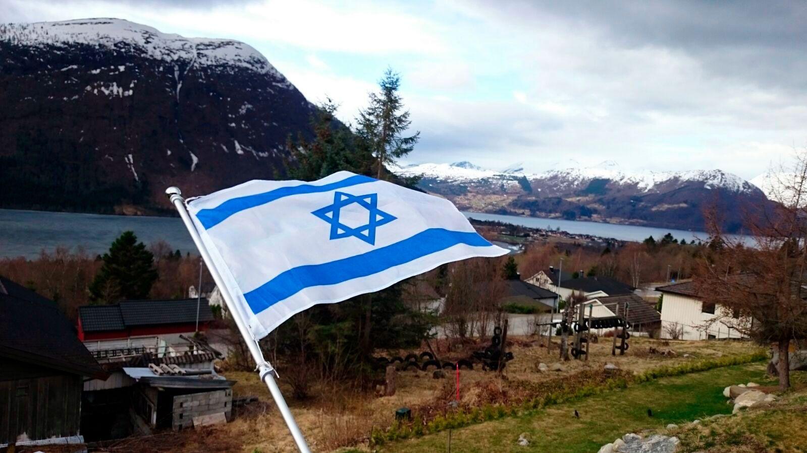 En Israel-venn i Møre og Romsdal har sendt dette bildet.