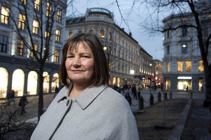 Generalsekretær Henriette Westhrin i Norsk Folkehjelp. (Foto: Eirik Sundt, Norsk Folkehjelp, flickr)