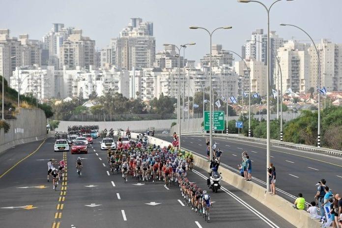 Fra etappen mellom Haifa og Tel Aviv. (Foto: Facebook)