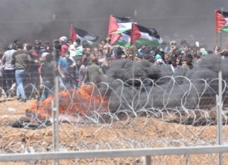 Det israelske forsvaret er forberedt på nye og voldelige protester langs Gaza-grensen tirsdag. (Foto: IDF Spokesperson)