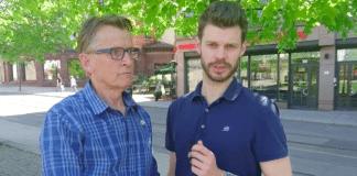 Mads Gilbert ble intervjuet av Rødt-leder Bjørnar Moxnes. I intervjuet ble det servert en rekke løgner. (Foto: Skjermdump Facebook)