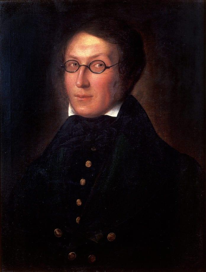 Portrettmaleri av Henrik Wergeland. (Foto: Creative Commons)
