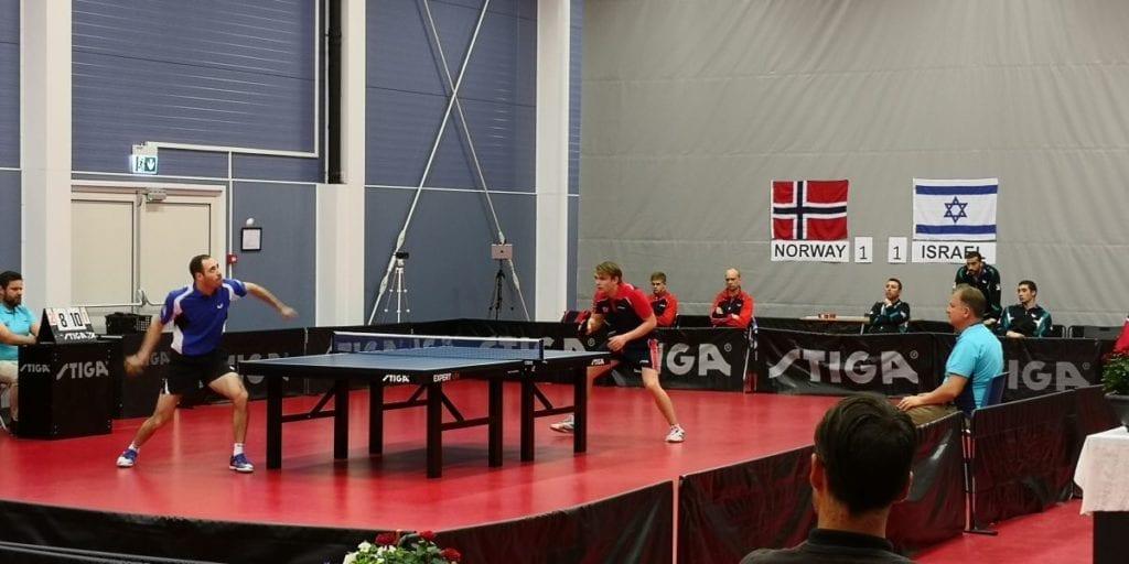 Omri Ben Ari til venstre og Markus Wærstad til høyre. (Foto: Yossi Salpeter)