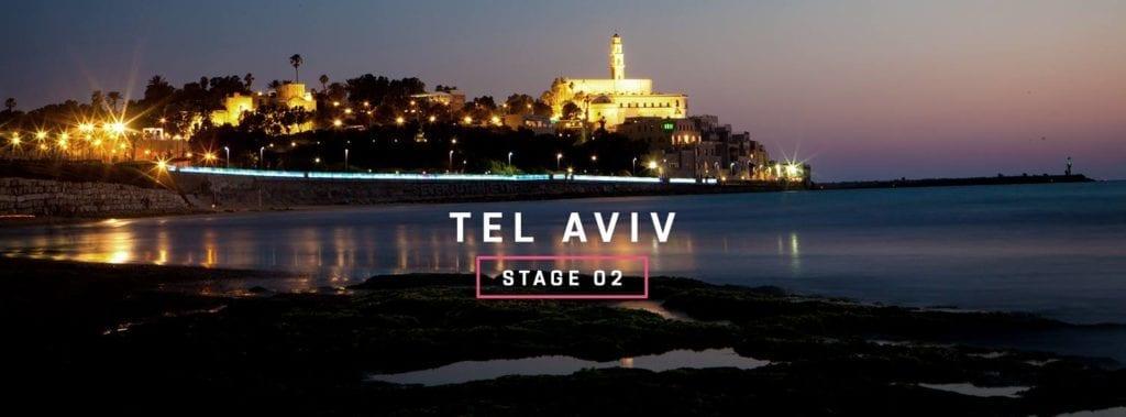 Den andre etappen går fra Tel Aviv til Haifa. (Foto: www.giroditalia.it)