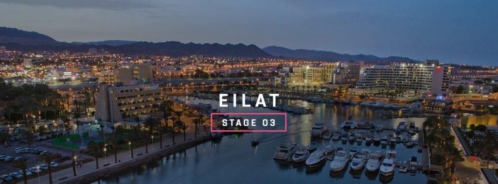 Den tredje etappen går fra Beersheva til Eilat. (Foto: www.giroditalia.it)