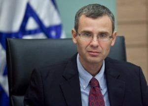 Turistminister Yariv Levin. (Foto: Facebook)