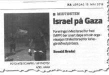 Faksmile av innlegg i Hamar Arbeiderblad lørdag 19. mai 2018.