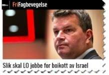 Skjermdump fra frifagbevegelse.no 12. juni 2018.