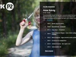 Anne Kalvig. (Foto: Skjermdump fra radio.nrk.no)