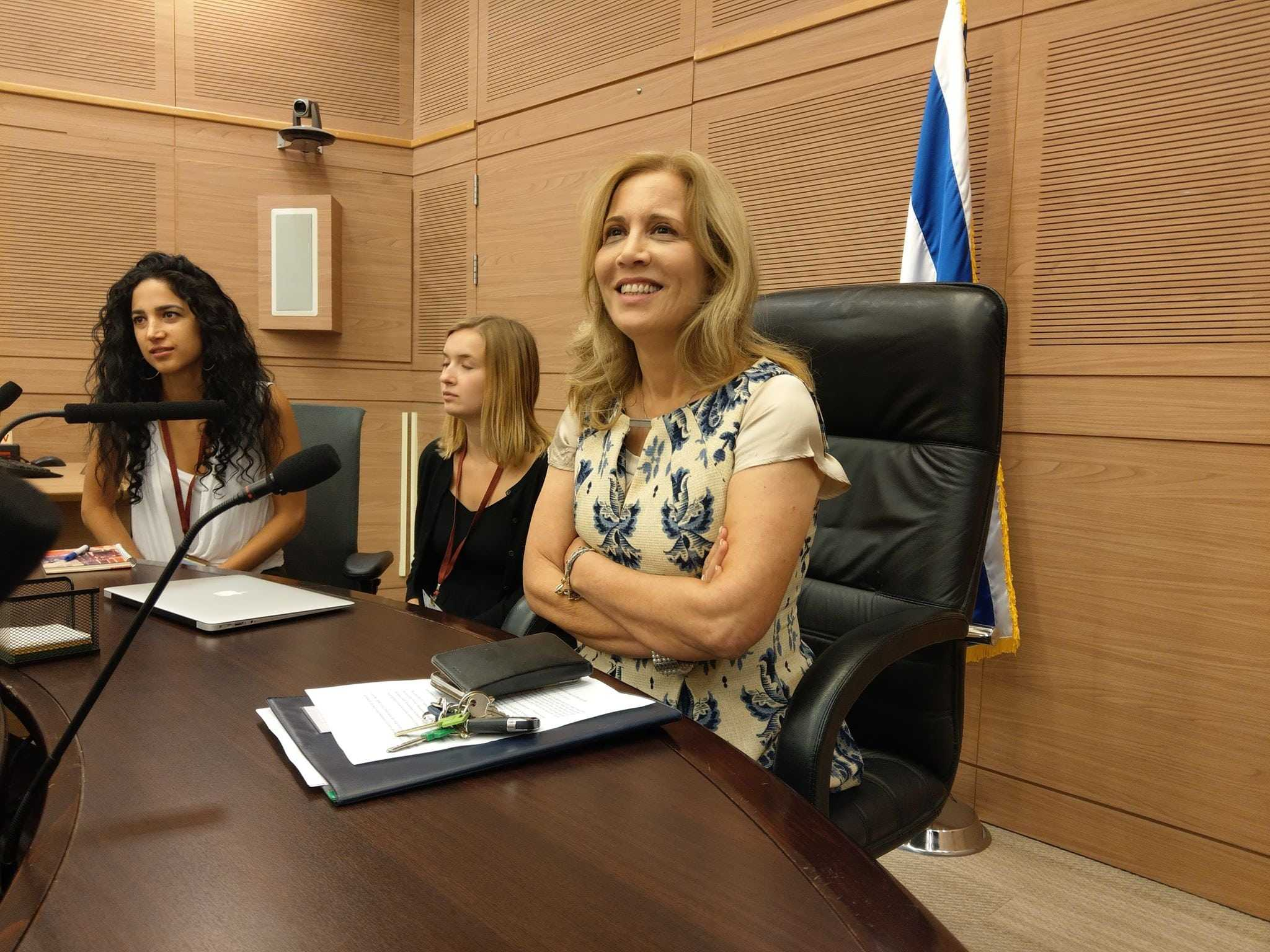 Knesset-medlem Aliza Lavie, leder for Norges venner i Knesset og representant for opposisjonspartiet Yesh Atid. (Foto: Kjetil Ravn Hansen)