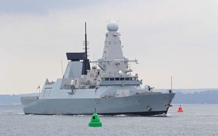 Den britiske jageren HMS Duncan. (Foto: CC-BY-SA-3.0/Brian Burnell)