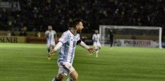 Lionel Messi og Argentina kommer ikke til Israel til lørdag etter at fotballkampen ble avlyst. (Foto: Wikipedia)