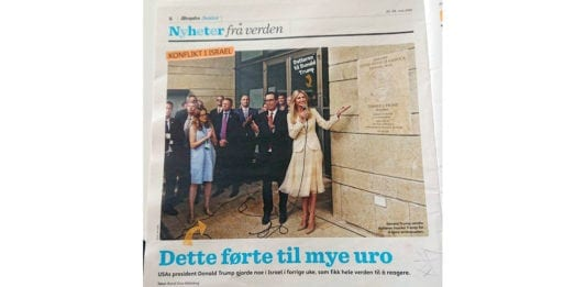 Faksmile fra Aftenposten Junior 22.-28. mai 2018.