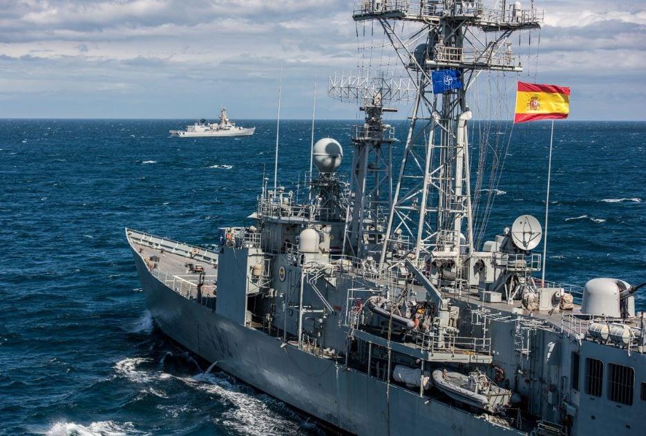 Den spanske fregatten Victoria. (Foto: IDF)