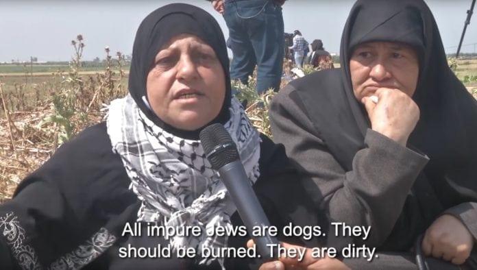 Palestinsk kvinne: