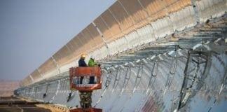 Israel har godkjent planer for stort solcelleanlegg som skal forsyne Gazastripen med strøm. (Foto: Negev Energy)