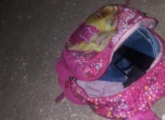 En gruppe palestinere forsøkte å infiltrere Israel fra Vestbredden. De hadde gjemt en maskinpistol i en rosa Barbie-sekk. (Foto: Politiet)