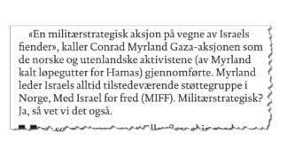 Faksmile fra Dagbladets lederartikkel 3. august 2018.
