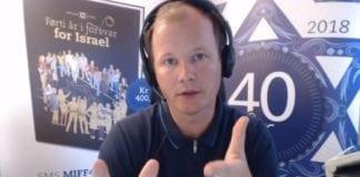 Conrad Myrland, daglig leder og redaktør i MIFF, i direktesending 3. august 2018.