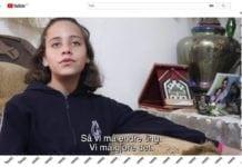 Janna Jihad i filmen til OD. (Skjermdump fra YouTube)