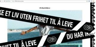 Skjermdump fra nettsiden frihettilaleve.od.no som presenterer Operasjon Dagsverk 2018.
