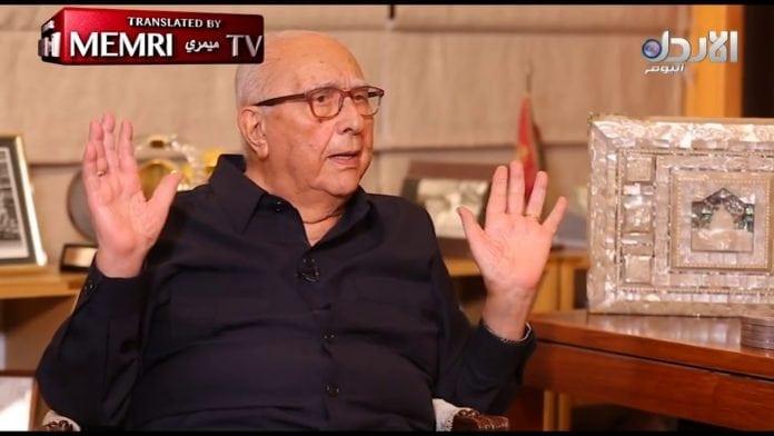 Jordans tidligere statsminister, Abdelsalam al-Majali, sier han ville erobret Haifa hvis militæret var mektig nok. (Foto: Skjermdump YouTube)