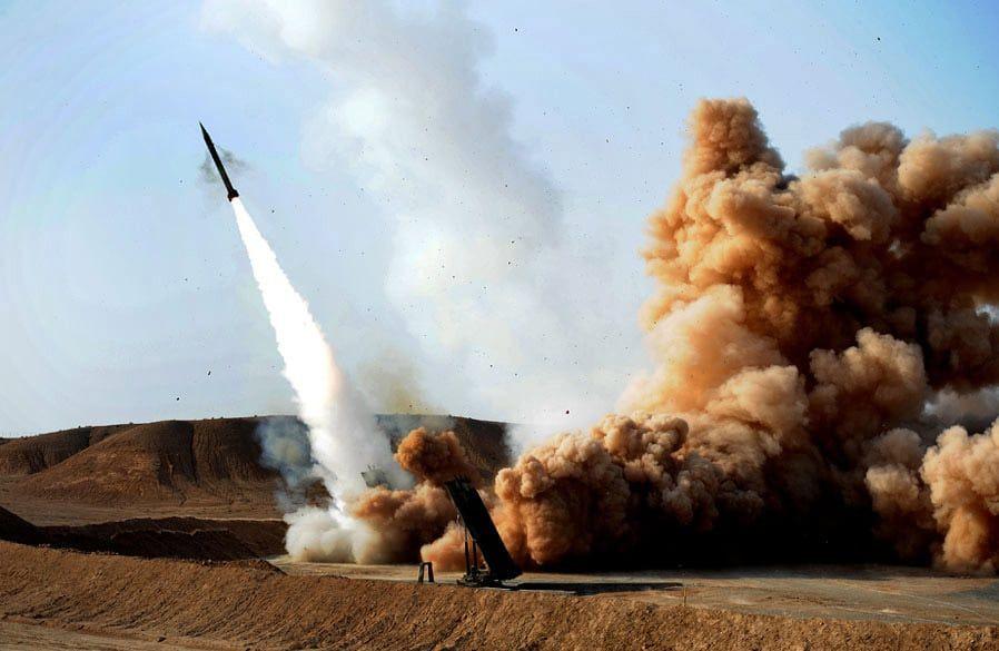 Zelzal-missiler er blant typen som Iran nå skal ha utplassert i Sør- og Vest-Irak. (Foto: Wikipedia(