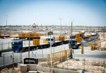 Grenseovergangen Kerem Shalom er åpnet igjen etter flere dager med fred og ro langs Gaza-grensen. (Foto: The Israel Project)