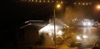 Huset til den palestinske terroristen Muhammad Yousef på Vestbredden ble revet tirsdag 28. august. (Foto: IDF)