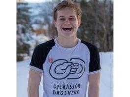 Erwin Teigen (18) anbefaler alle skoleelever å boikotte årets Operasjon Dagsverk. (Foto: Privat/ Facebook)