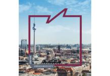 Utsnitt fra forsiden til årsrapporten fra Verfassungsschutz Berlin.