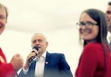 Hvis Jeremy Corbyn blir valgt til statsminister vil han umiddelbart anerkjenne Palestina. (Foto: Andy Miah/Flickr)