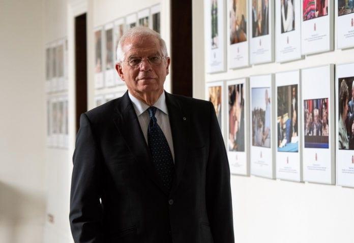 Den spanske utenriksministeren Josep Borrell vil prøve å presse andre europeiske politikere til å anerkjenne Palestina. (Foto: Ministro de Asuntos Exteriores)