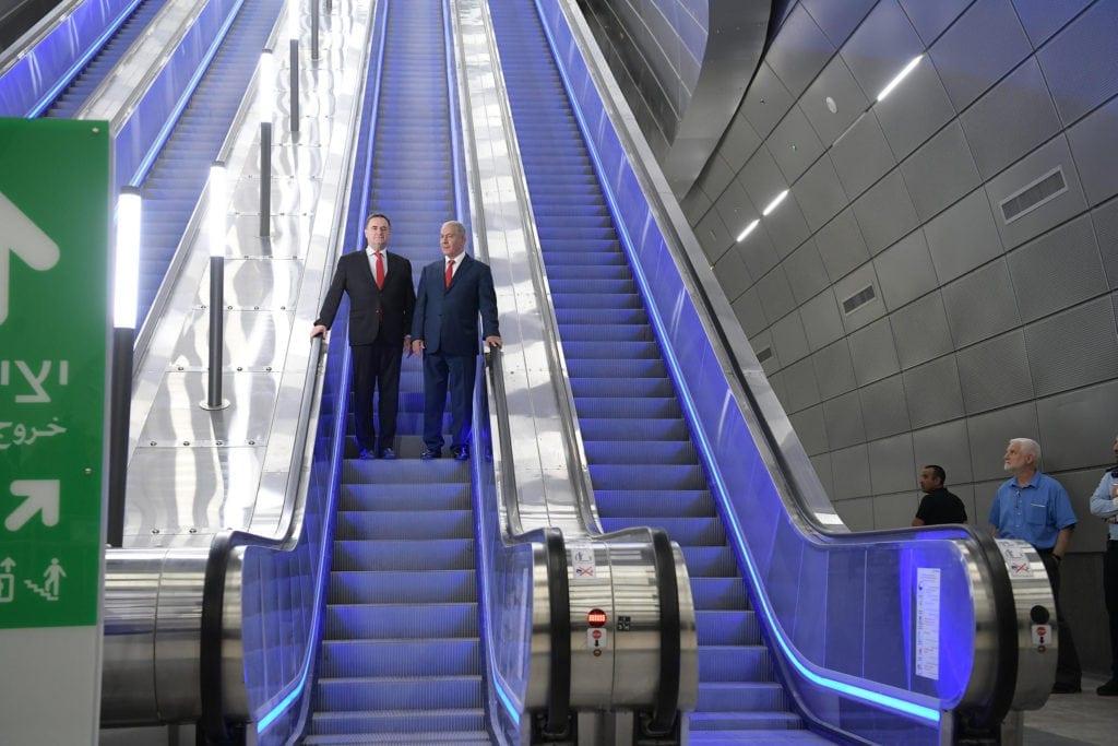 Terminalen til det nye høyhastighetstoget ligger under Ben Gurion-flyplass. (Foto: Amos Ben Gershom/Flickr)
