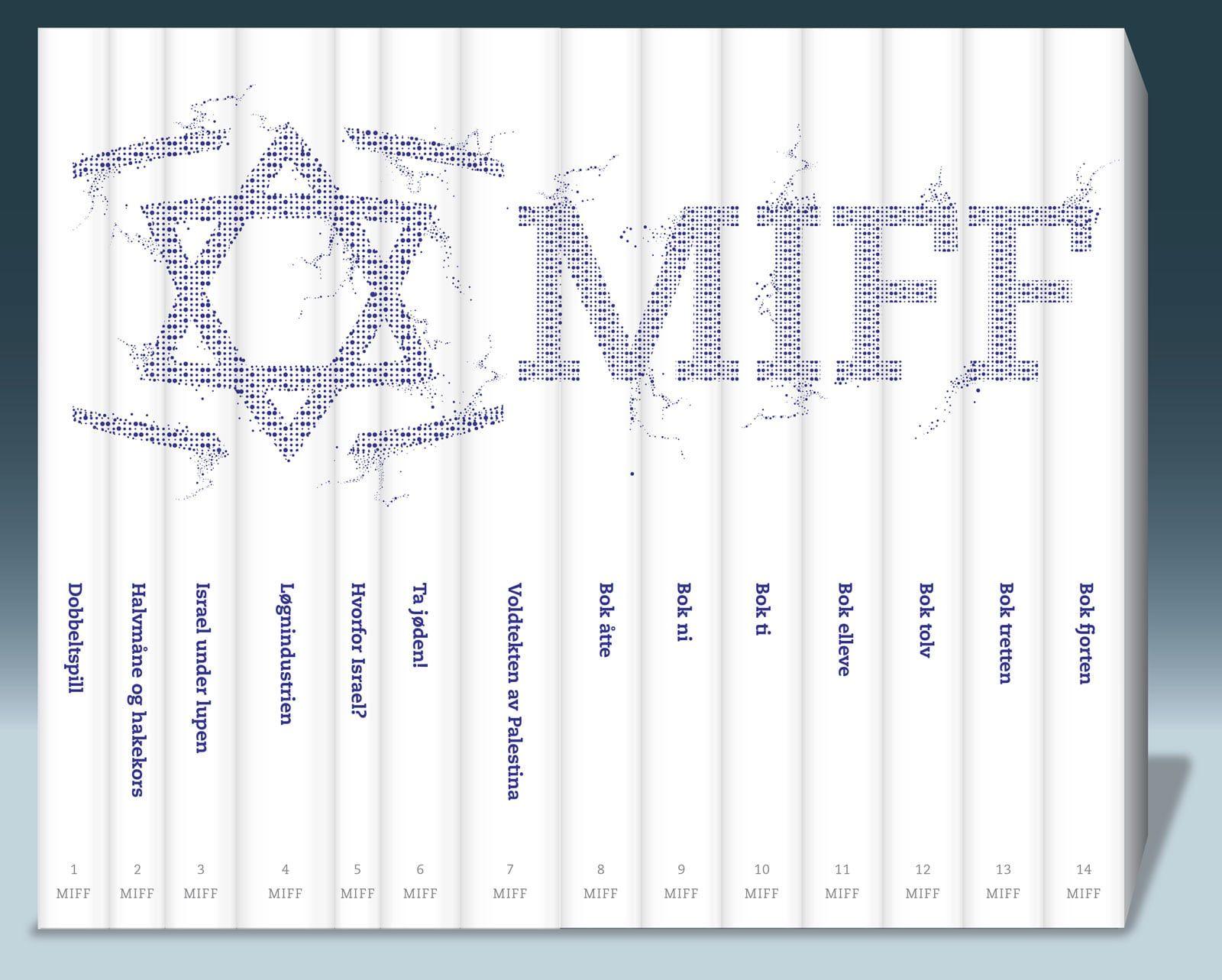 Pass på at du sikrer deg alle bøkene i MIFFs bokserie!