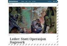 Fædrelandsvennen kritiserte MIFF i lederartikkel 12. oktober 2018. (Skjermdump fra fvn.no)