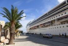Tel Aviv kommune har leid inn et cruiseskip, her illustrert ved MSC Opera, i forbindelse med Eurovision. (Foto: Wikimedia)