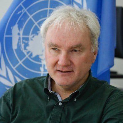 Matthias Schmale, sjef for UNRWA på Gazastripen. (Foto: Twitter)