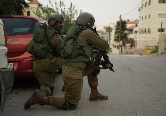 Israelske soldater på oppdrag på Vestbredden. (Foto: IDF Spokesperson)