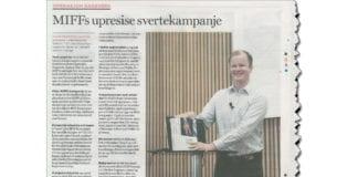 Faksmile av Dagen 9. november 2018.