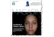 Faksmile av forsiden til Stavanger Aftenblads Magasin lørdag 24. november 2018.