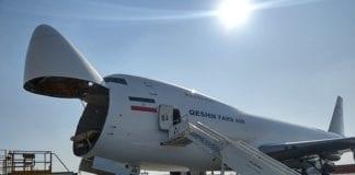 Et fraktfly fra det iranske selskapet Qeshm Fars Air. Israel mistenker at slike fly brukes til å frakte våpen. (Foto: Wikimedia Commons)