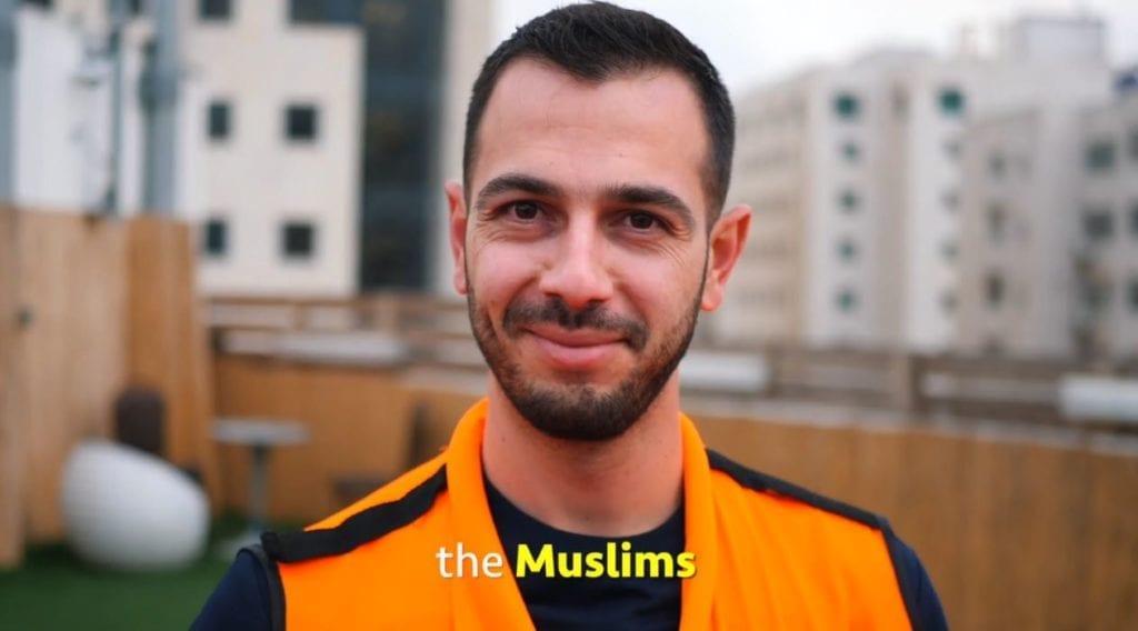 Mange muslimer har meldt seg som frivillige. (Foto: United Hatzalah)