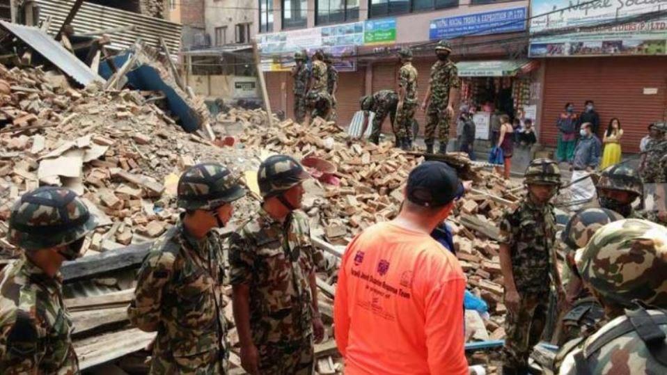 nited Hatzalah deltok i søk- og redningsoppdrag etter jordskjelvet i Nepal i 2015. (Foto: United Hatzalah)