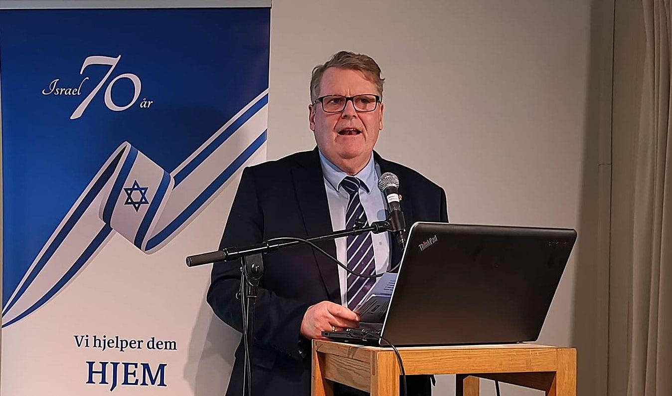 Hans Fredrik Grøvan i MIFF Stavanger: Samarbeidet Norge - Israel