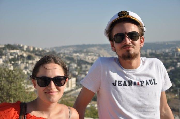 Cecilie Helle og Preben Dimmen deltok på MIFFs ungdomstur i 2018. (Foto: Kjetil Ravn Hansen, MIFF)